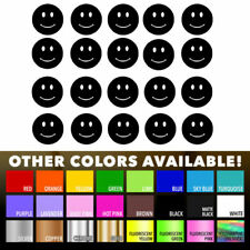 20 Smiley Face stickers Nursery Decal for DIY kids play room wall decor bedroom