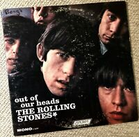 "ROLLING STONES ""Out Of Our Heads""  --  Orig. 1965 Mono London LP -First Pressing"