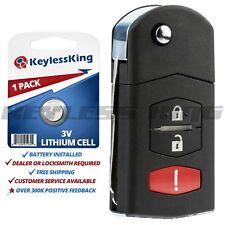 Replacement Remote Car Key Fob for Mazda 2 5 CX-7 CX-9 BGBX1T478SKE125-01