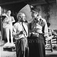 """Photographie,  """"Pablo Picasso et Lee Miller"""",  Paris, 1944     /   15 x 15"""
