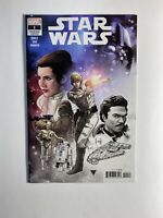 Star Wars #1 R.B. Silver Premiere Variant Cover - OBO