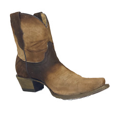 Corral Children's Brown Lamb Ankle Boots T0111