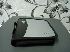 Retro Sony 30 CD Portable Carrying Case  Music CD Video Game Disk RARE