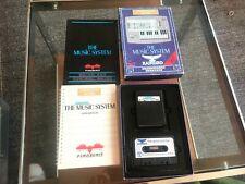 CBM-64/128 The Music System Rainbird Boxed Manual Disk Composer Commodore
