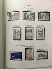 Timbres France neufs** sur feuilles complètes YT. 1983, 1984. Voir photos