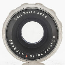 Carl Zeiss Jena TESSAR T 50mm 50 mm 2.8/50 2.8 1:2 .8 - m42 M 42 connettore