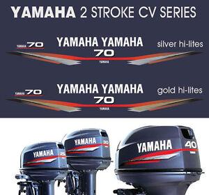 YAMAHA 70hp Two Stroke CV Series