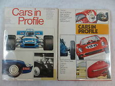 Lot of 2 CARS IN PROFILE Edited by Anthony Harding Doubleday & Company 1974