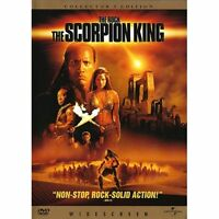 The Scorpion King (DVD, 2002, Widescreen) WORLDWIDE SHIP AVAIL