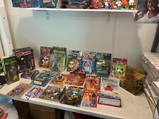Lot Of 20 Vintage Action Figures Fantastic Four Spawn Lost In Space Germs