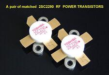 A pair (2pcs) of matched 2SC2290 Original TOSHIBA JAPAN Power Transistor 2SC2879
