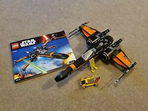 Lego Star Wars 75102 Poe Dameron's X-Wing No Minifigures Complete +Instructions