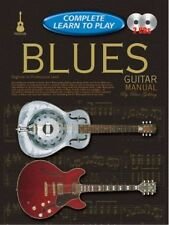 Complete Learn To Play Blues Guitar Manual Book/CD's - Same Day P+P