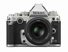 Nikon Df 16.2MP Camera Body + DF 50mm F/1.8 Lens Special Edition kit -Silver-