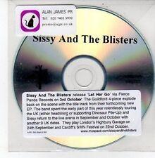 (DD726) Sissy & The Blisters, Let Her Go - DJ CD