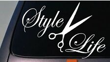 Hairstylist Life Style sticker decal barber swag beauty college haircut *C508*