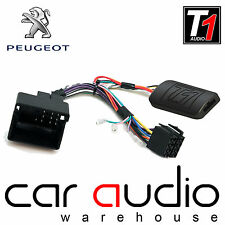 T1-PG7 Peugeot 207 307 308 407 807 Steering Wheel Interface Adaptor FREE PATCH