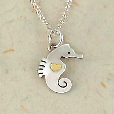 Seahorse Charm Pendant 925 Sterling Silver Far Fetched Artisan Taxco Ocean