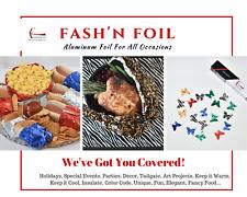 FASH'N FOIL Aluminum Foil in Colors