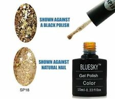 Bluesky UV LED Soak Off Nail Polish SP18 Gold 10ml