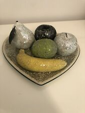 Mosaic Fruit With Plate New Home Decor