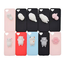Cute 3D Squishy Soft Silicone Animal Kneading Cover Case For I-Phone 5/5s/se