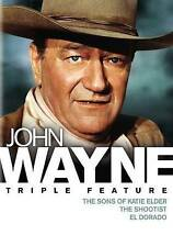 John Wayne Triple Feature (DVD, 2015, 3-Disc Set)