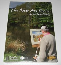 The New Art Doctor in the Lake District (DVD, 2014, 3-Disc Set) new, sealed