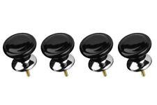 Premier Housewares Classic Design manopole per cassetti - Nero Set di 4