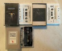 Cassette Lot: Eagles: One of These Nights + The Long Run + Hell Freezes Over