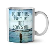 Life Motivation NEW White Tea Coffee Mug 11 oz   Wellcoda