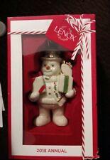 Lenox new in box 2018 Annual Snowman