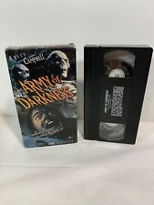 Army of Darkness Vhs Evil Dead 1992 Cult Classic Bruce Campbell Horror