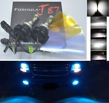 LED Kit X3 50W 9005 HB3 10000K Blue Two Bulbs Light DRL Daytime Replacement Lamp
