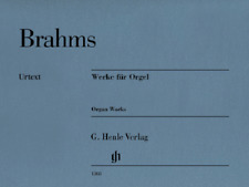 Henle Urtext Brahms Works for Organ - Revised Edition