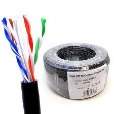 50m externa CAT6 Cable De Red Ethernet de cobre de uso al aire libre Carrete UTP [008536]
