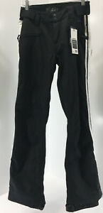 Protest Womens Sanca Softshell Ski Trousers Color Black/White Medium NWT #