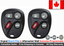 2x New OEM Replacement Keyless Remote Control Key Fob For Chevy Cadillac GMC