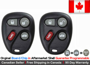 2x New OEM Replacement Keyless Remote KOBLEAR1XT Key Fob For Chevy Cadillac GMC