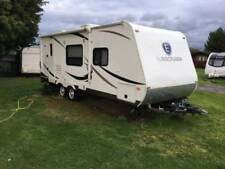 2 Axles Mobiles&Touring Caravans with Air Conditioning