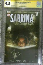 Sabrina: The Teenage Witch #1 ACE variant__CGC 9.8 SS__Signed by Kiernan Shipka