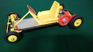 Vintage AMF Wen-Mac Jr. Go Kart Tether Car w/.049 Engine w/Starting Stand