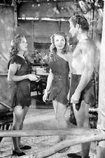 Lex Barker Brenda Joyce Evelyn Ankers Tarzan Magic Fountain 11x17 Mini Poster