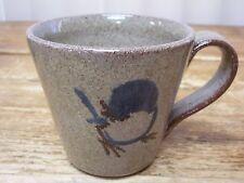 Old Time Pottery Winthrop Washington Blue Bird Coffee Mug Cup 1990 E V Shape
