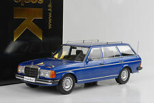 1978 mercedes-benz 250t w123 coche familiar Estate blue metalizado azul 1:18 KK DIECAST
