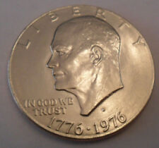1976 D Eisenhower Dollar Coin (Ike)  Type II (2)   **FREE SHIPPING**