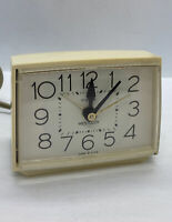 Vintage Westclox Clock, Electric , Alarm, Works Perfect/ Made in USA Model 22190