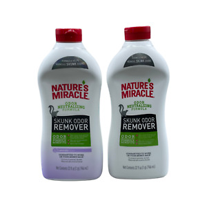 Nature s Miracle Skunk Odor Remover Odor Neutralizing Formula 32oz