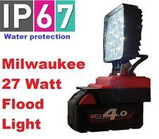 Milwaukee 27 Watt LED flood light with 180 degree adjustment