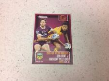 Single - Insert Brisbane Broncos Modern (1970-Now) NRL & Rugby League Trading Cards